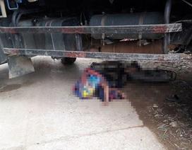 Bất cẩn khi lùi xe, tài xế xe tải cán chết học sinh tiểu học
