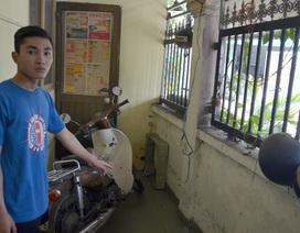 Trộm phá hàng rào lấy 4 xe máy trong đêm