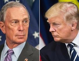 """Tỷ phú Bloomberg coi đánh bại ông Trump là """"khoản đầu tư"""""""
