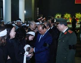 Thủ tướng viếng 3 liệt sĩ hy sinh ở Đồng Tâm