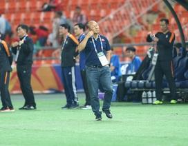HLV Park Hang Seo lặng lẽ rời sân sau trận thua U23 Triều Tiên