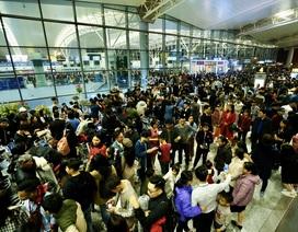 Sân bay Nội Bài quá tải dịp Tết, khuyến cáo hành khách đến sớm 3 tiếng