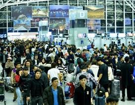 """Cao điểm Tết: """"Siết"""" an ninh sân bay, đường sắt tiếp tục tăng tải"""