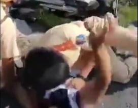 Điều tra vụ CSGT bị người say xỉn chửi bới, tấn công