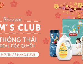 Shopee Mum's Club - địa chỉ mua sắm cho các mẹ với loạt ưu đãi giảm đến 30%