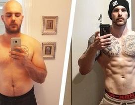 Người đàn ông giảm 24 kg, sở hữu thân hình 6 múi nhờ cai rượu bia