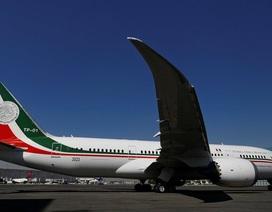 Mexico tính bán chuyên cơ tổng thống 130 triệu USD bằng chương trình xổ số