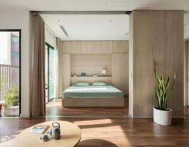 Đập bỏ bức tường bí bách, căn chung cư ở Hà Nội có không gian mở như nhà phố