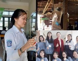 Nhà vách gỗ xiêu vẹo, nữ sinh nghèo giành giải Nhất quốc gia môn Địa lý