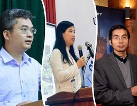 Ba nhà khoa học Việt được vinh danh tầm thế giới năm 2019