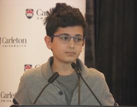 """""""Nhói lòng"""" phát biểu của thiếu niên 13 tuổi mất cha trong vụ bắn nhầm máy bay"""