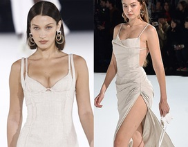 Chị em Hadid nổi bật tại tuần lễ thời trang Paris