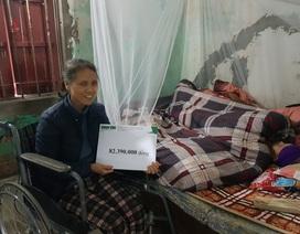 Người phụ nữ ngồi xe lăn chăm mẹ già 93 tuổi được bạn đọc giúp đỡ hơn 82 triệu đồng