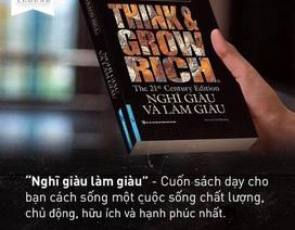 """Đơn vị nào ký hợp đồng độc quyền xuất bản """"Nghĩ giàu làm giàu"""" đầu tiên ở Việt Nam?"""
