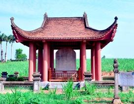 Đại Việt Lam Sơn Kính Lăng bi được công nhận là Bảo vật Quốc gia