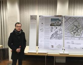 Nhóm kiến trúc sư Việt giành giải Nhất cuộc thi kiến trúc – thiết kế quy hoạch tại Đức