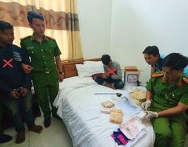 Bắt 2 đối tượng người Lào với gần 10 nghìn viên ma túy