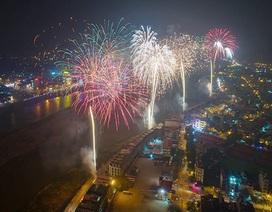 Lào Cai có 4 điểm bắn pháo hoa đón năm mới