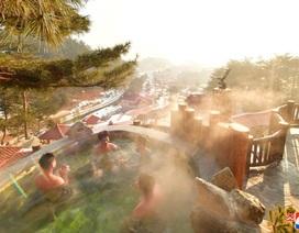 Ảnh hiếm bên trong khu nghỉ dưỡng suối nước nóng của Triều Tiên