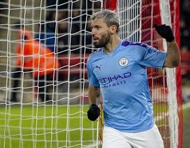 """Aguero """"giải cứu"""" Man City trên sân của Sheffield Utd"""