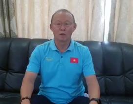 HLV Park Hang Seo gửi lời chúc Tết tới người hâm mộ Việt Nam