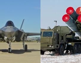 """Lá chắn S-400 của Nga """"bắt bài"""" tiêm kích tàng hình F-35 của Mỹ?"""