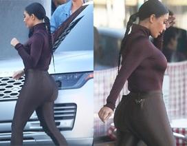 """Kim Kardashian diện đồ ôm sát khoe thân hình """"đồng hồ cát"""""""
