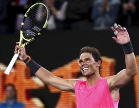 Australian Open: Nadal vững vàng vượt qua thử thách thứ hai