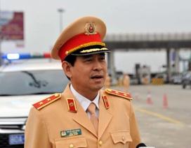 Cục trưởng CSGT kiểm tra việc xử lý vi phạm nồng độ cồn trên cao tốc