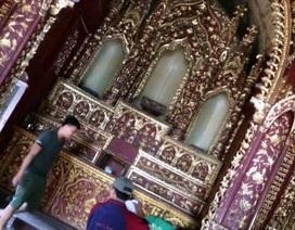 Điều tra, truy tìm 2 đối tượng trộm cổ vật ở nhà thờ