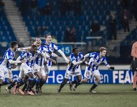 Văn Hậu dự bị trong ngày Heerenveen lọt vào tứ kết cúp Hà Lan