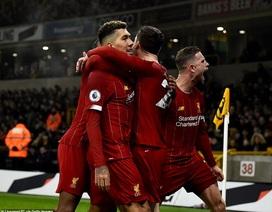 Thắng trên sân Wolves, Liverpool tạo khoảng cách 16 điểm với Man City
