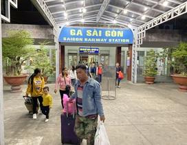 Chuyến tàu cuối cùng rời ga Sài Gòn trước thời khắc giao thừa