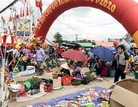 Vạn người nô nức trẩy hội chợ Gò lúc mờ sáng mồng 1 Tết ở Bình Định