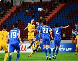 Đánh bại U23 Uzbekistan, U23 Australia giành vé dự Olympic 2020