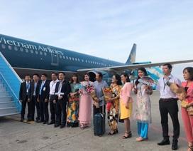 Chuyến bay đầu tiên trong năm mới hạ cánh xuống Đà Nẵng
