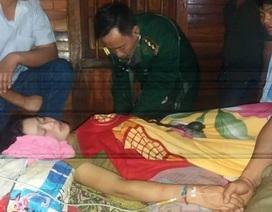 Ngộ độc thức ăn ngày Tết, người phụ nữ dân tộc được bộ đội biên phòng cứu sống