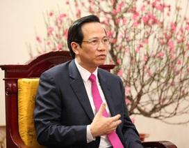 """Bộ trưởng Đào Ngọc Dung: """"Khó khăn nhất khi đề xuất tăng tuổi hưu"""""""