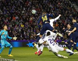 Đánh bại Valladolid, Real Madrid soán ngôi đầu bảng của Barcelona