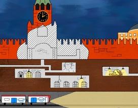Những điều bí ẩn bên dưới điện Kremlin