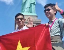 Vượt qua ngàn người, cậu học trò 15 tuổi giành suất đến Mỹ