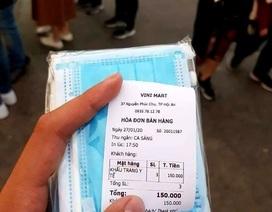 Hoang tin 1 khẩu trang phòng ngừa virus corona giá 50 ngàn đồng