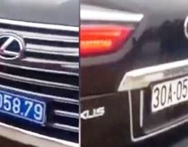 Vụ xe Lexus mang 2 biển kiểm soát: Phạt 5 triệu đồng với tài xế