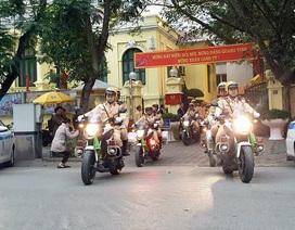 Hà Nội ra quân đảm bảo trật tự an toàn giao thông năm 2020