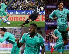 Thắng đậm Zaragoza, Real Madrid tiến vào tứ kết Cúp Nhà vua