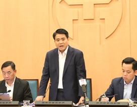 Chủ tịch Hà Nội: Phấn đấu không có trường hợp nào mắc bệnh do virus Corona