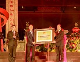 Xếp hạng Di tích Quốc gia đặc biệt với Địa điểm Chiến thắng Xương Giang
