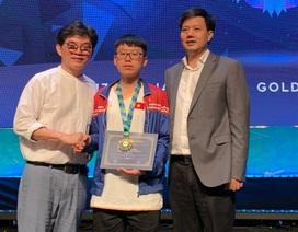 Học sinh trường chuyên ĐH Vinh giành huy chương Vàng Olympic Toán tiếng Anh SEAMO
