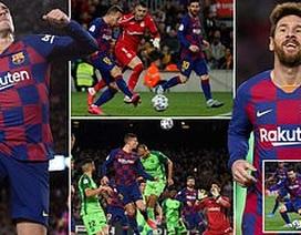 Messi và Griezmann tỏa sáng đưa Barcelona vào tứ kết Cúp Nhà vua