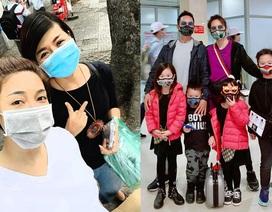 Sao Việt trang bị kín mít, phát khẩu trang miễn phí giữa đại dịch virus Corona